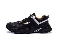 Мужские кожаные кроссовки Fila Flex Zone   (реплика)