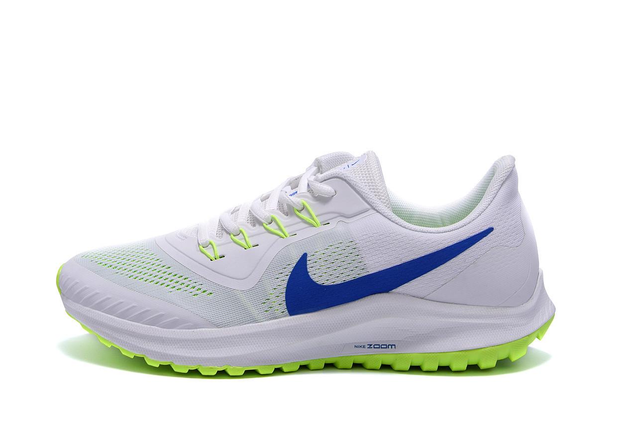 Мужские летние кроссовки сетка Nike AIR Max White (реплика)