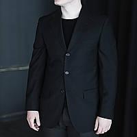 Классический мужской костюм черный от Antonio Basile