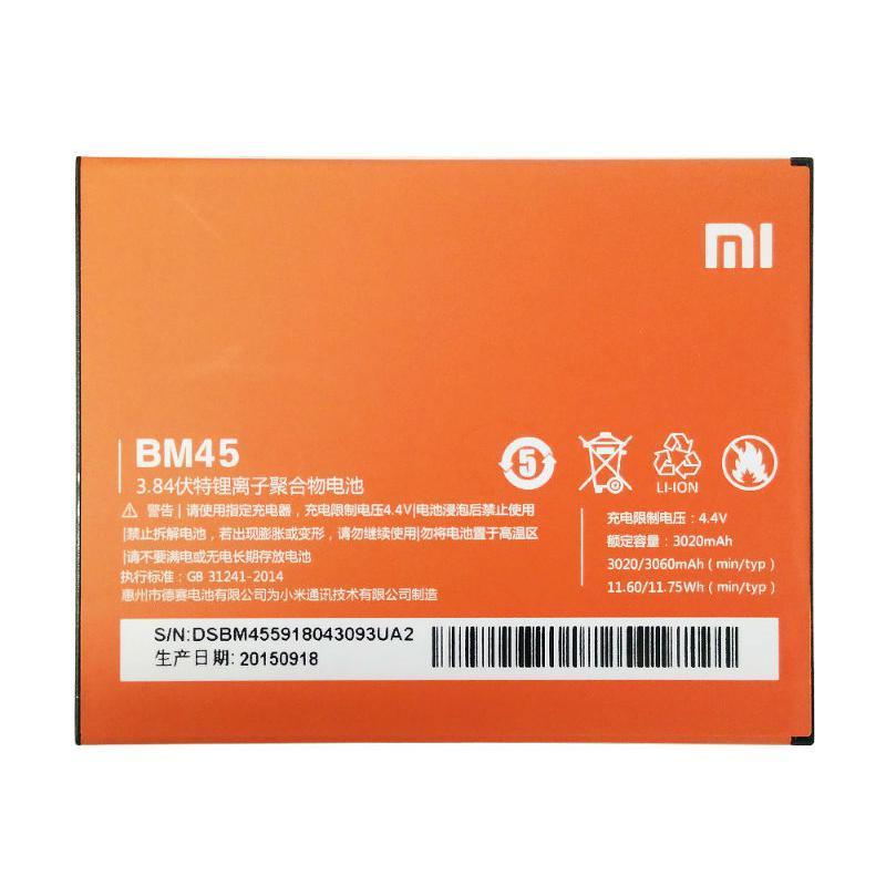 АКБ Original Quality Xiaomi BM45 (Redmi Note 2) (70%-100%)