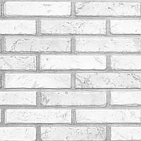 Пластиковая Декоративная Панель ПВХ КИРПИЧ СВЕТЛЫЙ (971X498) мм