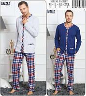 Комплект мужской домашней одежды (кофта длинный рукав+штаны )х/б VS