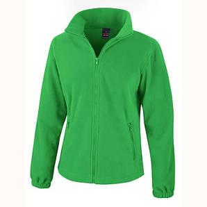 Толстовка фліс Result L Яскраво-Зелений