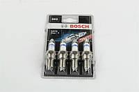 Свеча зажигания BOSCH WR78 ВАЗ 2110, 2111, 2112-099-10 Super-4 (4 шт. блистер) (Германия). 0 242 232 803