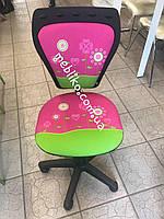 Детское  кресло на колесиках MINISYLE  Цветы, фото 1