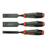 Стамески набор 3 шт 16-25-32 мм YATO YT-6280 (YT-6280)