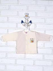 Кофточка детская, утепленная, интерлок с подчесом Татошка (размер р.56)
