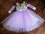 Детские нарядные платья с пайетками, фото 8