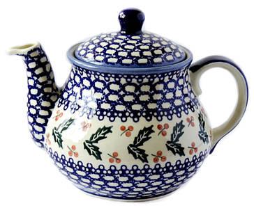 Заварочный керамический чайник 1,5L Oak leaves