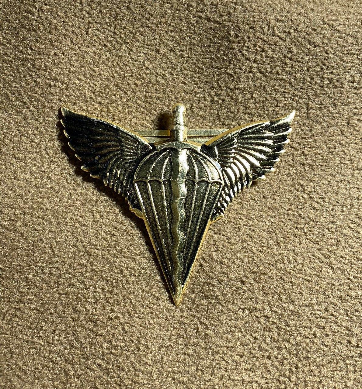 Кокарда ДШВ метал