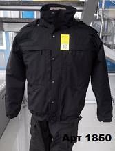 Куртка Поліції зимова чорна 5,11 (репліка)