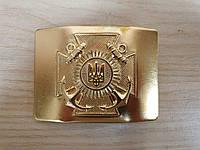 Бляха латунная Крест ВМС