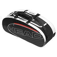 Сумка для большого тенниса Head Elite Combi BKWH (MD)