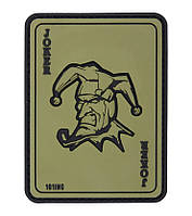 M-TAC 101 INC JOKER 3D PVC PATCH GREEN