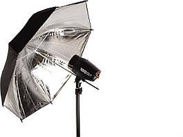 Студийная вспышка с штативом и зонтами FST PHOTO EG-180KA IP33