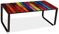 Журнальный стол TAXI II MIX/черный 105x55x43 (Signal)