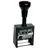Нумератор автоматический металлический 8-разрядный Trodat В6К/8 чёрный