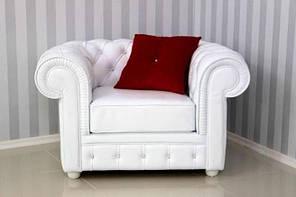 """Крісло """"Бруно"""" від Шик-Галичина (білий)"""