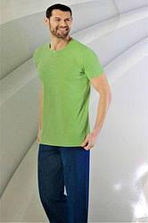 Комплект летний  мужской домашней одежды, х/б (футболка короткий рукав+штаны) Aydogan (размер M)