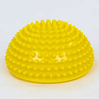 Полусфера массажная балансировочная Balance Kit 1726 желтая
