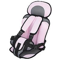 Детское бескаркасное автокресло Child Car Seat. Безопасное портативное сиденье! Лучшая цена