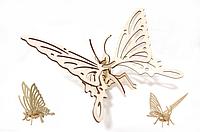 "Пазл 3DK-00-4 3D ""Бабочка"" | пазл из дерева | пазлы для детей | деревянный 3D пазл | 3Д пазлы! Хит продаж"