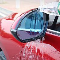 Плівка Anti-fog film 95*95 мм, анти-дощ для дзеркал авто   безбарвна захисна плівка відблисків від води і