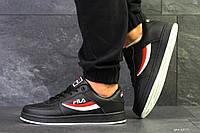 Мужские осенние кроссовки Fila,черные