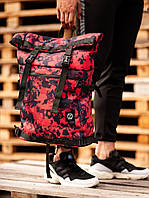 Рюкзак Rolltop BEZET Red camo'19, фото 1