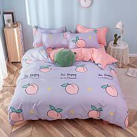 """Комплект постельного белья """"Персик"""" (двуспальный-евро), фото 1"""