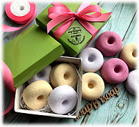 """Набор гейзеров """"Пончики"""" в коробке, фото 1"""