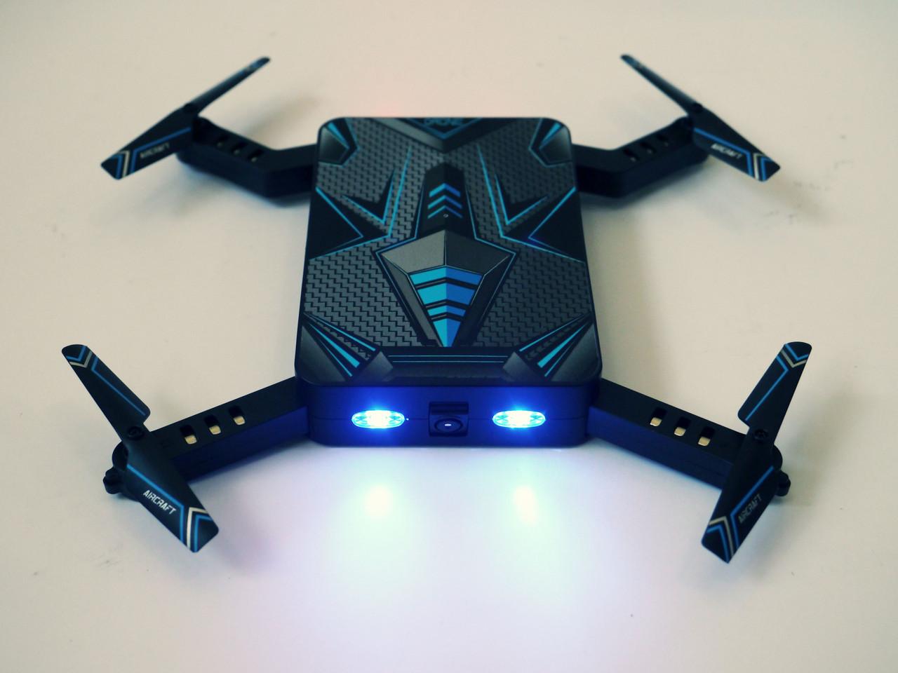 Складной квадрокоптер дрон S8 с Wi-Fi-камерой