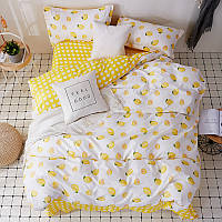 Комплект постельного белья Lemon (двуспальный-евро), фото 1