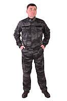 Костюм Охрана черный Атакс, Комбат, китель, брюки.