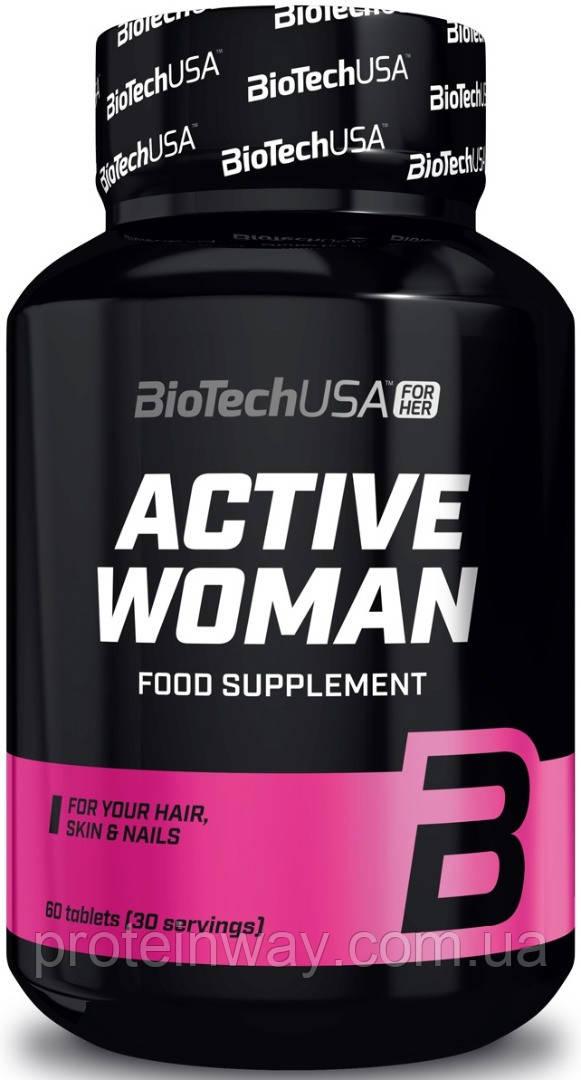Biotech USA женские витамины active woman 60капс