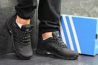 Мужские осенние кроссовки Adidas Climaproof,термо,черные 41р