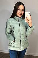 Куртка женская 1706 оливковая