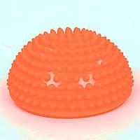 Полусфера массажная балансировочная Balance Kit 1726 оранжевая