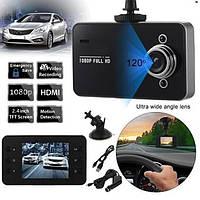 Автомобильный видеорегистратор, DVR K6000 B без HDMI,Авто видеорегистратор, Регистратор в машину! Лучшая цена
