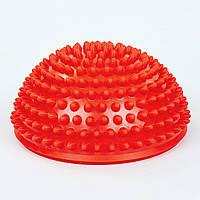 Полусфера массажная балансировочная Balance Kit 1726 красная