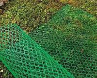 "Сетка пластиковая садовая ""Забор"" ø2,2 0.5*30м зеленая"
