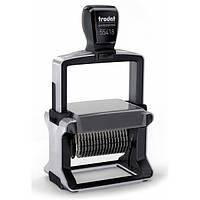Нумератор полуавтоматический металлический 18-разрядный Trodat 55418 серый