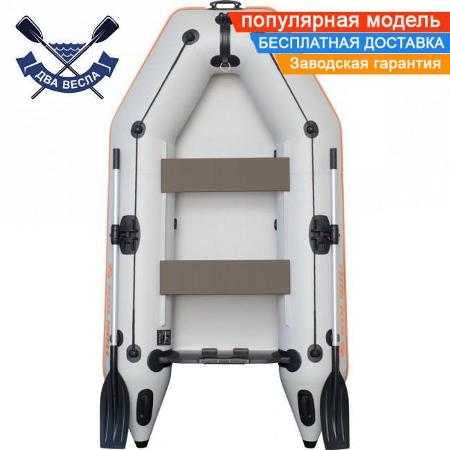 Моторная надувная лодка Kolibri КМ-260 двухместная без настила