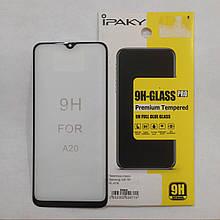 Защитное стекло для Samsung A20/A30/A30S/A50/A50s/M30 5D Black