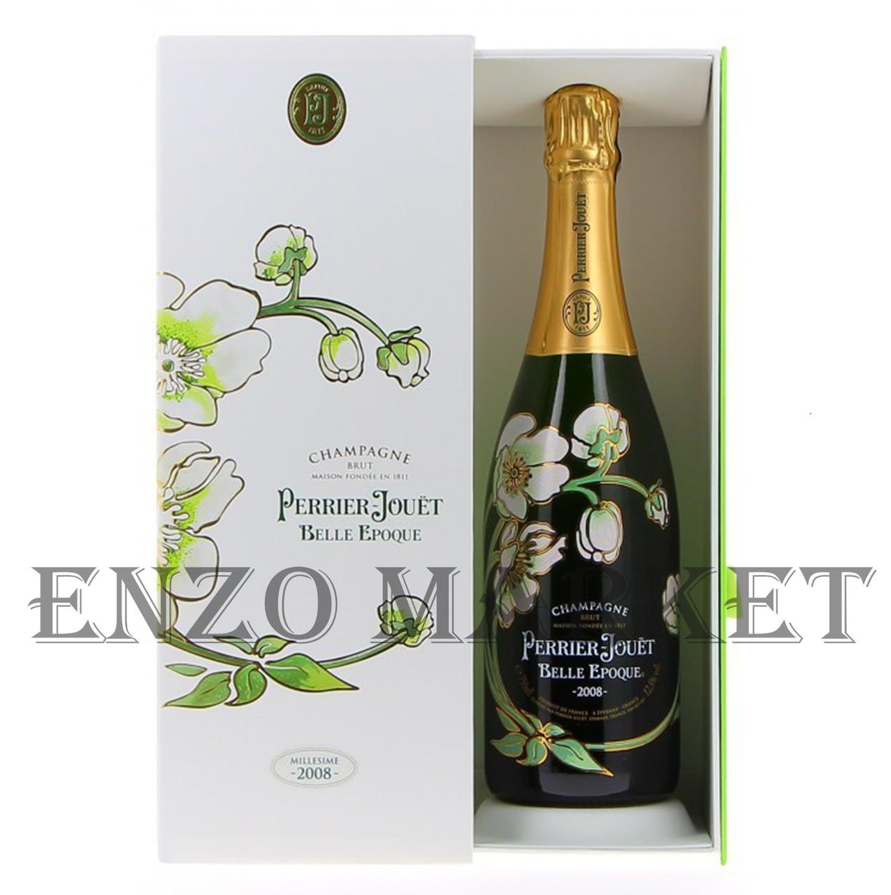 Шампанское Perrier Jouet Belle Epoque Brut (Перье Жует Брют) 12.5%, 0,75 литра