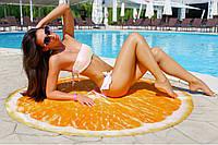 Пляжний килимок Апельсин