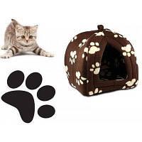 Портативная подвесная мягкая будка для собак и котов Pet Hut, Домик для домашних Пет Хат! Лучшая цена