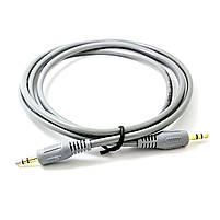 Универсальный кабель Lesko jack 3.5 mm-3.5 mm 1.5 м для компьютера смартфона наушников аудиосистем, фото 2