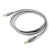 Универсальный кабель Lesko jack 3.5 mm-3.5 mm 1.5 м для компьютера смартфона наушников аудиосистем, фото 3