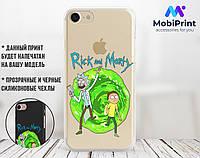 Силиконовый чехол для Apple Iphone XR Рик и Морти (Rick and Morty) (4025-3328)
